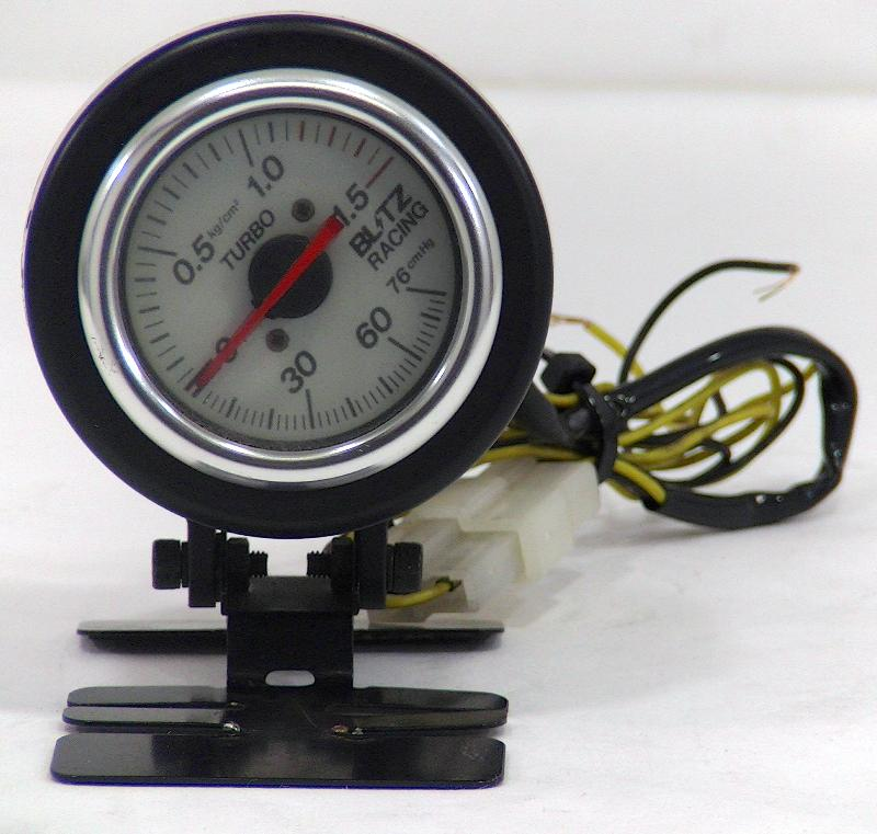 BLITZ Boost gauge 60mm + Stand S13 S14 Supra 300ZX R33 R34
