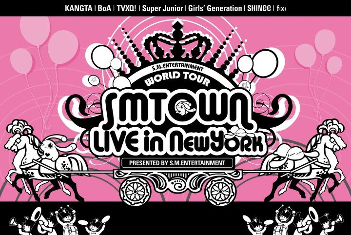 SM Town Live in New York